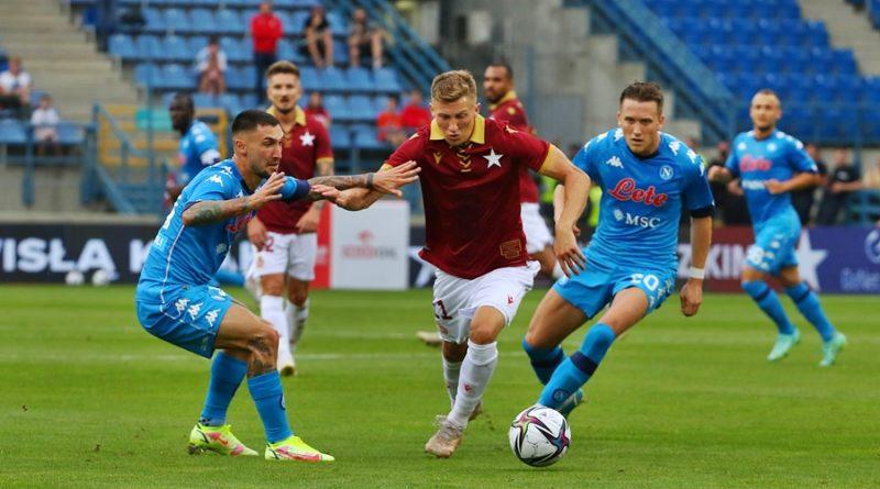 Wisła Kraków - Napoli 1-2 Zdjęcia